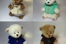 teddy bears & friends / мишки тедди и их друзья