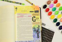 Bible Journaling / by Ladybug Wreaths