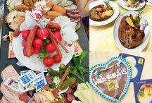 Oktoberfest / Das größe Volkfest der Welt - die Wiesn bzw. das Oktoberfest in München. Hier wird Bier und das bayerische Essen geliebt und auf den Bänken in Dirndl oder Lederhose getanzt. Nicht nur ganz Bayern, sondern gleich die ganze Welt feiert auf der Theresienwiese.