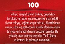 Yeni Türkiye Sözleşmesi / Yeni Türkiye Sözleşmesi, Başbakan Ahmet Davutoğlu tarafından açıklandı.