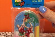 vintage pinball game, children toy