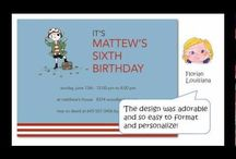 [VIDEO] Party Invitation Ideas