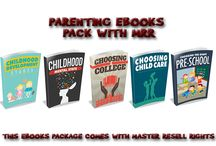 Parenting Ebooks With Master Resell Rights / Are you in the parenting niche? Browse the pins on this board for Parenting and Kids ebooks that come with Master Resale Rights. Use them to build your list or resell the ebooks, package them or even use them for affiliate bonuses. The possibilities are endless. Take action and grow your kids and parenting business online.