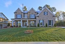 Model Home - Ridgemoore Estates / Model Home: The Hillgrove II (Ridgemoore Estates by Home South Communities) Located in Suwanee, Georgia and priced from the high $400s to the high $500s.