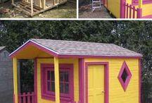 dřevěné domky na zahradu