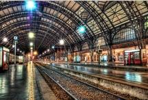 Treinen, Rail en Spoor