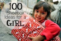 Shoebox Ideas for Girls 5-9 / Follow this board for store bought & handmade ideas to pack in your Operation Christmas Child shoe box gifts for girls ages 5-9!