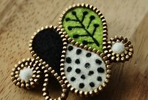 Fibre/textile jewelry / by Adele