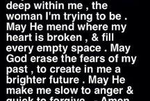 Sayings and Prayers