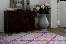 Carpet and cusions etc