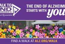 End Alzheimer's ! / Let's raise awareness and fight this! I actively battle this everyday ! I have lost family members to this disease. We need a cure! Help by walking and donating !