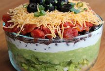 HEALTHY SEVEN LAYER DIP