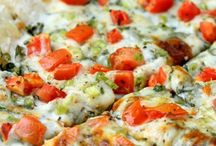 Healthier Pizza's / Who says pizza has to be bad for you? These pizza's are a healthier alternative to your classic favorites!
