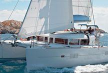 Catamaran Sailing Yachts / Lagon Catamaran sailing yachts to rent for a unique sailing experience, in Greece.