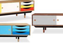 Mid-century Modern Cabinets/Storage