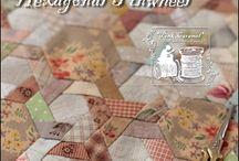 Patchwork - hexagon
