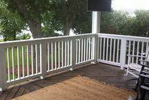 Balconies and Piers / Custom balconies and piers built in the Houston, Texas area by Wood Crafters.
