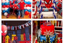 Party ideas for kids -  Spiderman