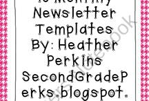 Classroom Newsletters / by Leisha Shigenaga