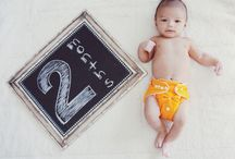Baby Miles Monthly Photo ideas / by Elizabeth Bibby