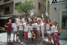Student certificates / At inlingua Malta our number mission is to create happy faces through satisfaction.