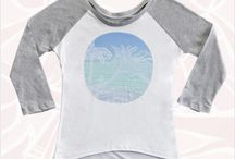 Heather Brown Surf Art Clothing / Heather Brown is an Internationally acclaimed surf artist from the North Shore of Oahu, Hawai'i. Here is a sampling of some of the textile designs and accessories that she designs as well.