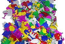 Party Confetti / Different types of party confetti available at MyBirthdaySupplies