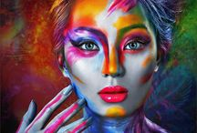 Bodypainting fluo