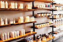 Display shelves for shop