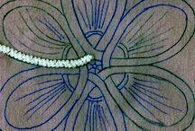 Romanian point lace