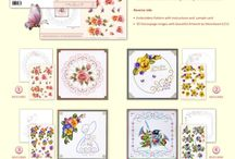 3D Card Embroidery Sheets by Anns Paper Art