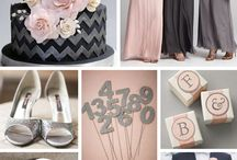Pink/ Rose/ Blush/ Cotton Candy Weddings / Various Pink Palettes/ Various Pink Color Combinations