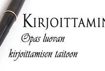 Kirjoittaminen / Suomalaisia linkkejä kirjoittamiseen.