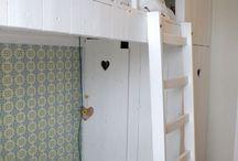Kleine kinderslaapkamer