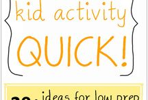 Family Life: Fun Activities / Ideas for activities with the kids