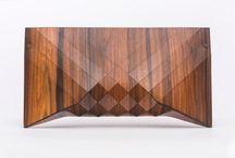 wooden handbags