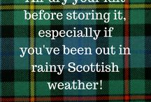Kilt Tips / Tips and ideas for everything you need to know about buying and owning a kilt!