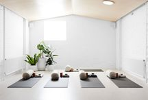 Yoga & massage spaces