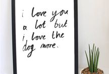 Valentine's  Day Gifts for Dog Lovers / Inspiration for what you can give the dog lover in your life for Valentine's Day...