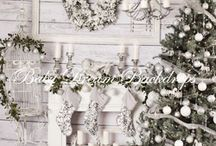 White and Silver Holiday Set