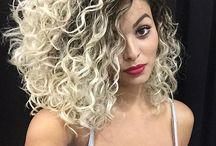 Curly hair @ Salon Ambiance 714 846-5900