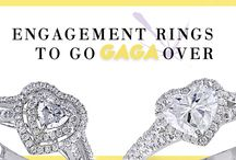 Lady Gaga Inspired Engagement Rings / Engagement Rings to go Gaga Over / by Ice.com