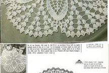 Cалфетки. Swipe. Crocheted napkins. Doilies crochet.Decor.