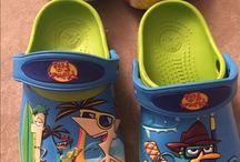 shoe character crocs