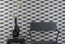 Walls / Patterned / graphic wallpapers. / by b studios