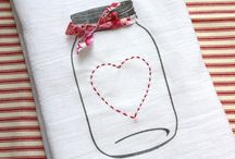 flour sack towel crafts