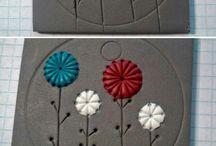 Arcilla cerámica polímero