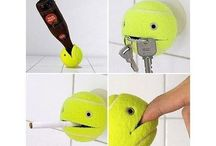 Tennis ball projects