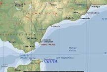 Viajar por Ceuta y Melilla / Provincias de Ceuta y Melilla. www.manualidadespinacam.com