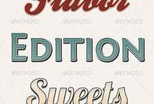 Retro Branding / Fonts, styles, ideas